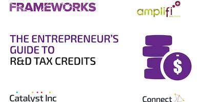 Frameworks Workshops: The Entrepreneur's Guide to R&D Tax Credits