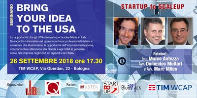Startup To Scaleup Chap V: Bring your idea to the USA