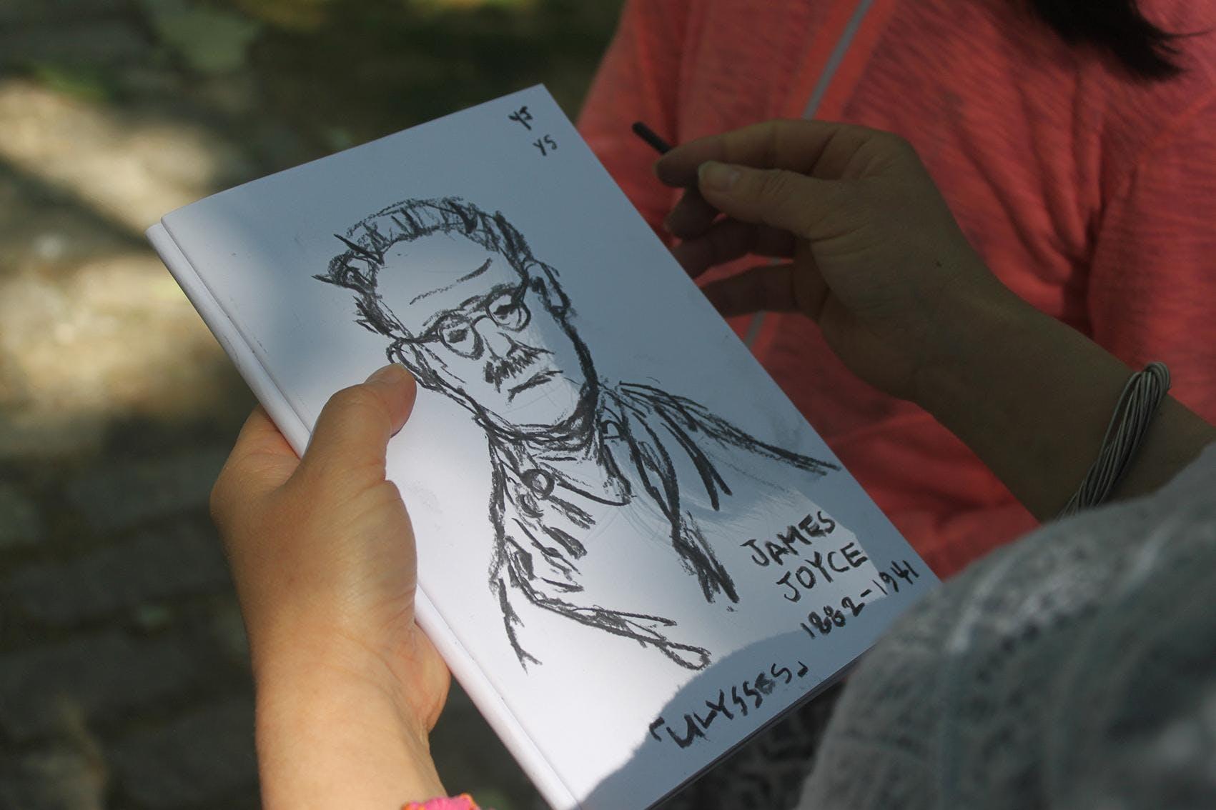 Drawing Statues, Heritage Week