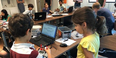 NewTechKids Fall 2018 CS Program for 7-12 years: 1