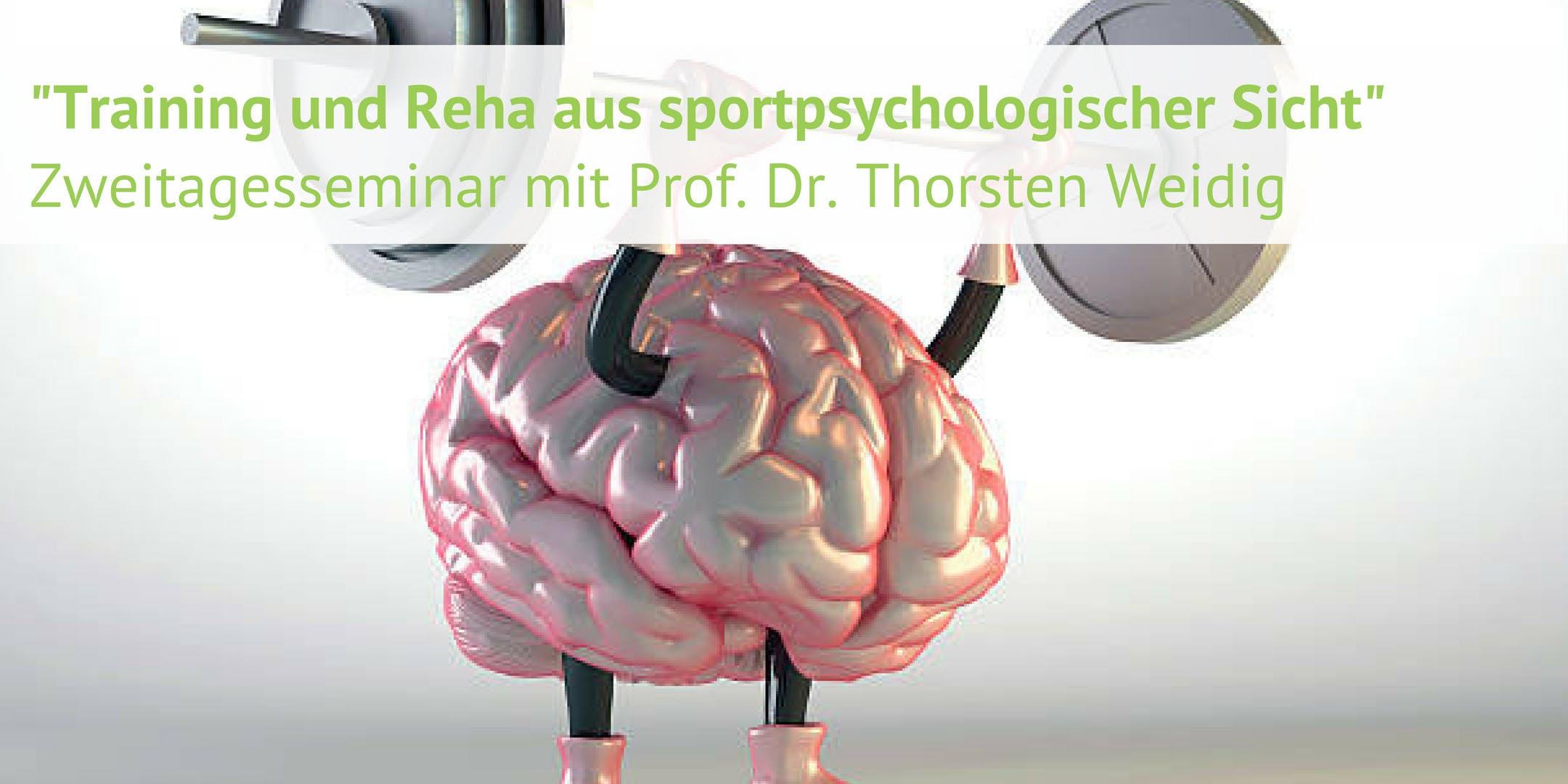 Training und Reha aus sportpsychologischer Sicht - mit Prof. Dr. Thorsten Weidig