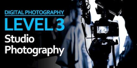 Level 3: Studio Photography tickets