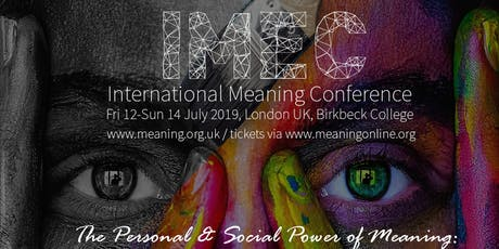 IMEC International Meaning Conference 2019: The Social Power of Meaning tickets