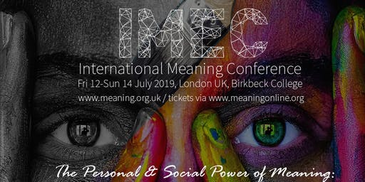 IMEC International Meaning Conference 2019: The Social Power of Meaning