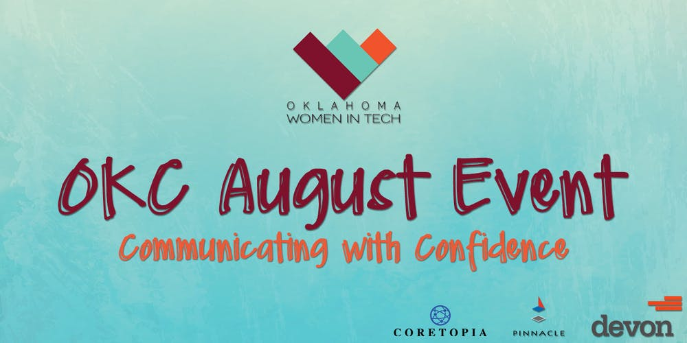 OKWIT OKC - Communicating with Confidence Tickets, Wed, Aug 29, 2018 ...