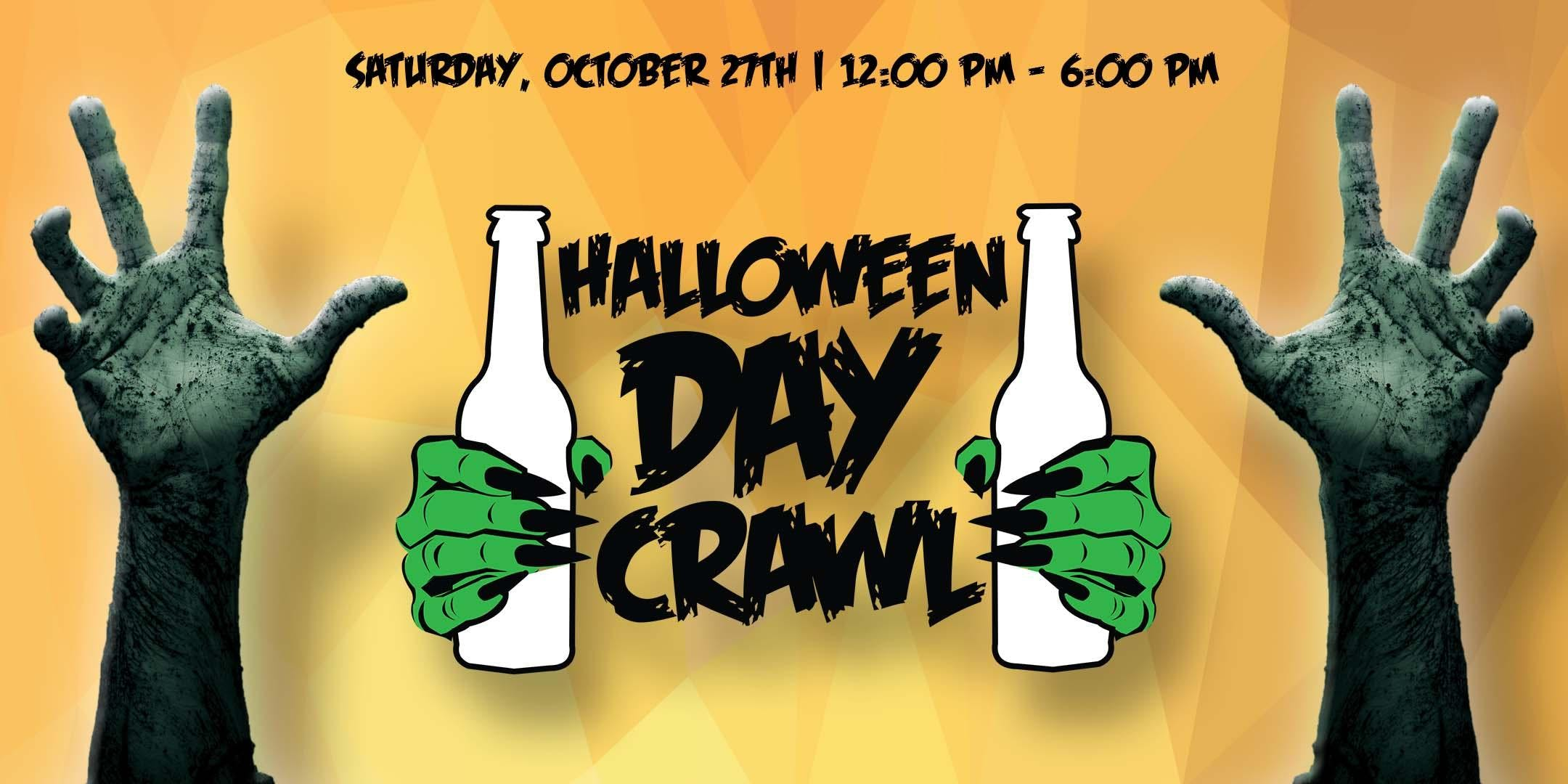 Halloween Day Crawl - Sat. Oct. 27th in Old Town - Scottsdale