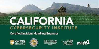 C)IHE — Certified Incident Handling Engineer /OnSite/ Dec 10-14, 2018