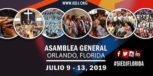 5ta Asamblea General IEDJ