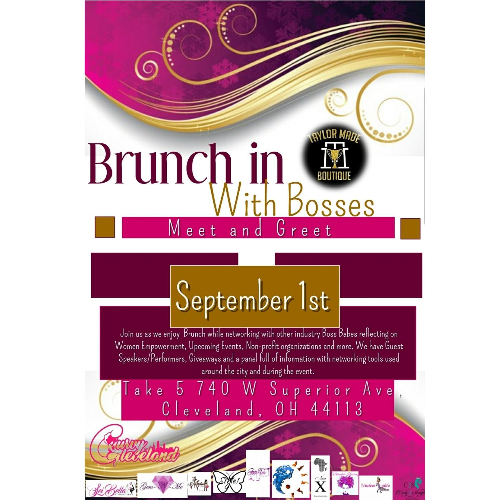 Brunch in with bosses meet and greet 1 sep 2018 brunch in with bosses meet and greet m4hsunfo