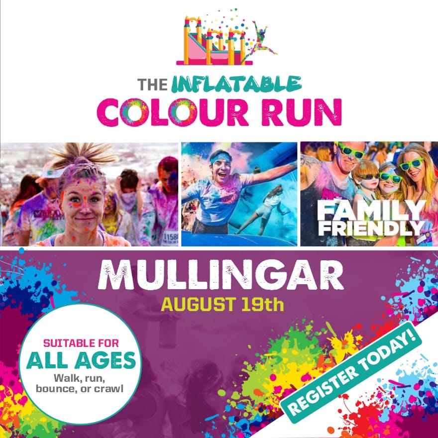 Inflatable Colour Run-Mullingar,Co Westmeath 2018