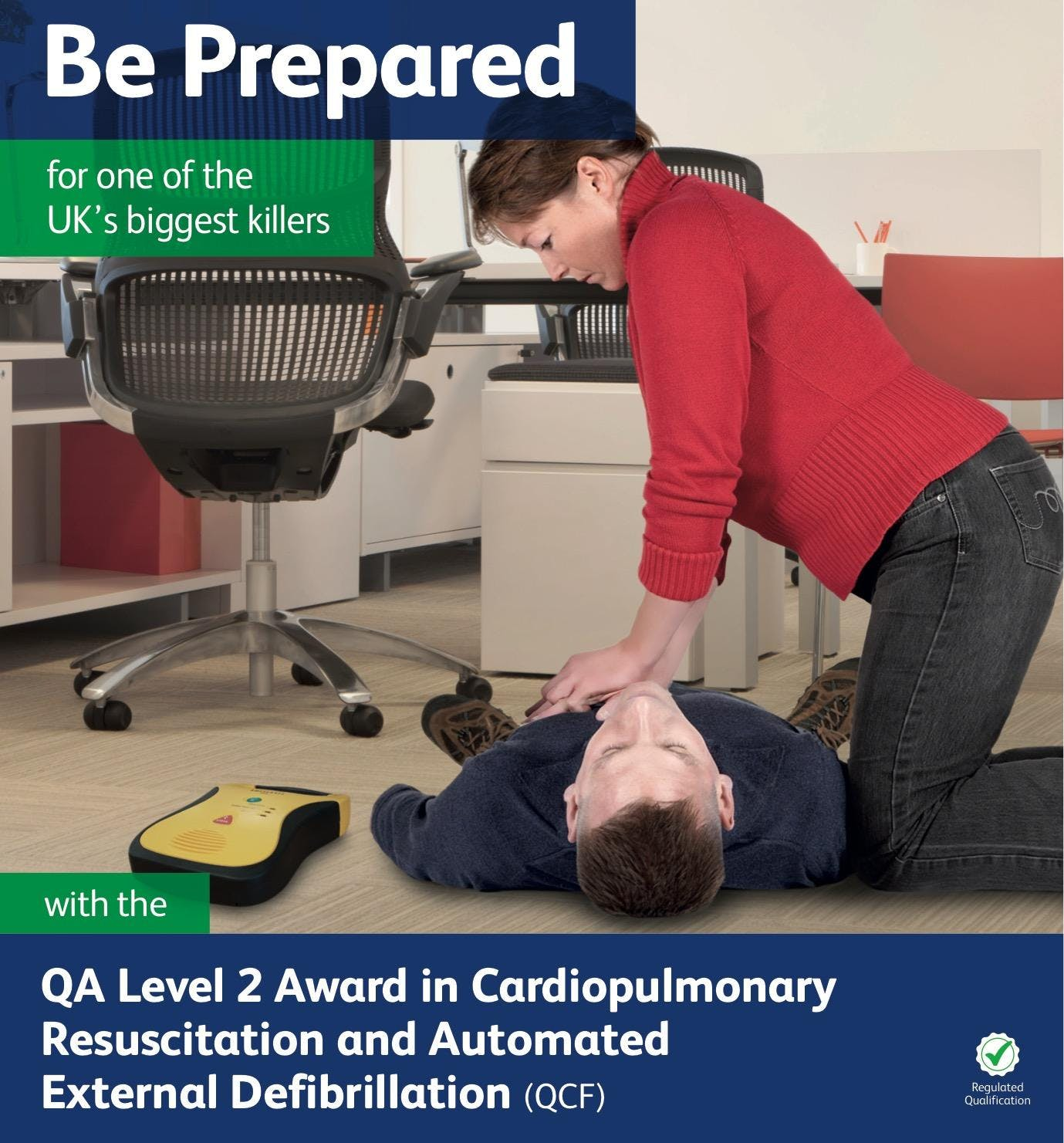 QA Level 3 Emergency First Aid at Work Cours