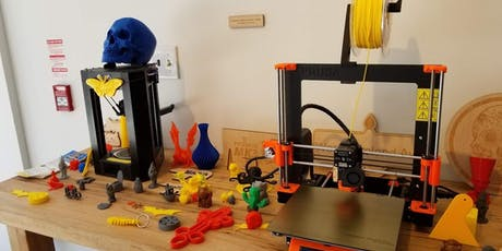 Print a Thing: Intro to 3D Printing tickets