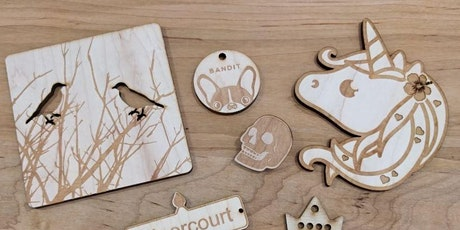 Fun With Lasers: Intro to Laser Cutting! tickets