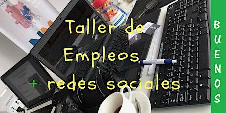Taller de Empleos + Redes sociales entradas