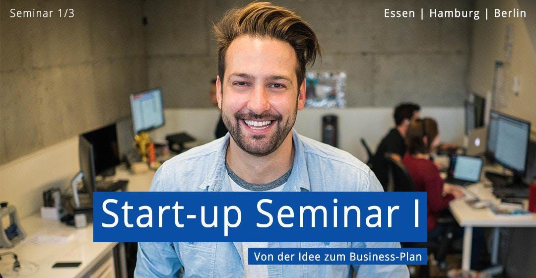 Start-up Teil I - Von der Idee zum Business-P