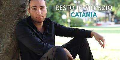 """Presentazione """"Resto in Silenzio"""" - Catania"""