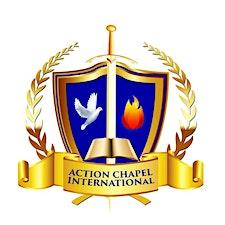Action Chapel Baltimore: Dominion Center logo