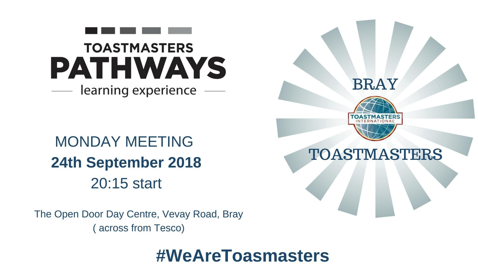 Bray Toastmasters Meeting
