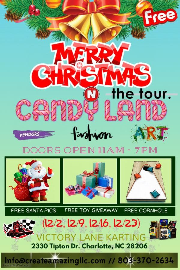 christmas in candyland tour - Candyland Christmas Door Decorations