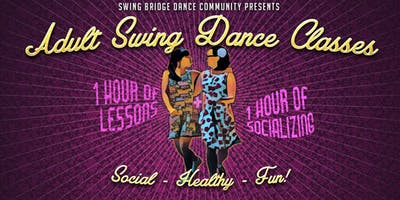 Drop in Monday Beginner Swing Dance Lessons & Socializing