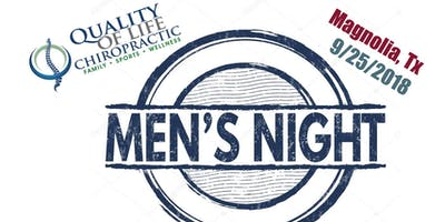 A Very Manly Men's Night