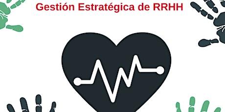 Curso de Gestión Estratégica de RRHH #online entradas