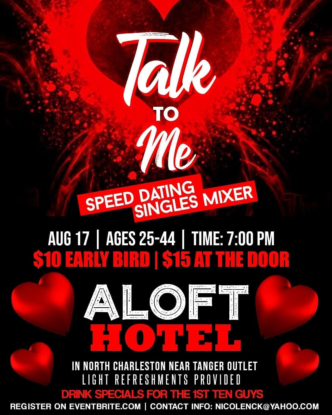 speed dating aloft dating after losing my husband