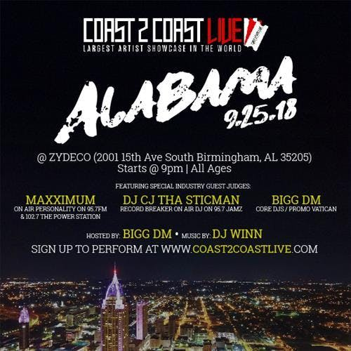 Coast 2 Coast LIVE | Alabama All Ages Edition