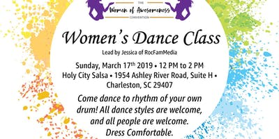 Women's Dance Class: The Women of Awesomeness Convention