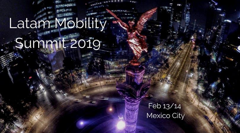 Latam Mobility Summit 2019