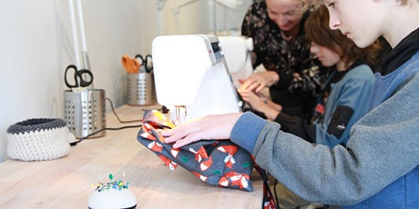 School Holiday Sewing Camp with Annie - Day 1 Introduction to Sewing tickets