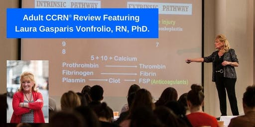 Adult CCRN Review Cram Presented by Laura Gasparis Vonfrolio, RN, PhD