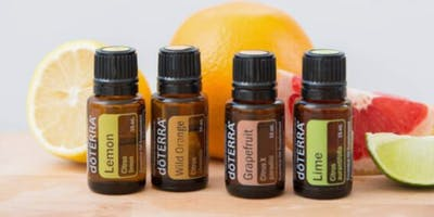 KWM - The Week - Demo: Essential Oils - every 15 minutes from 10am to 12noon in the Cafe