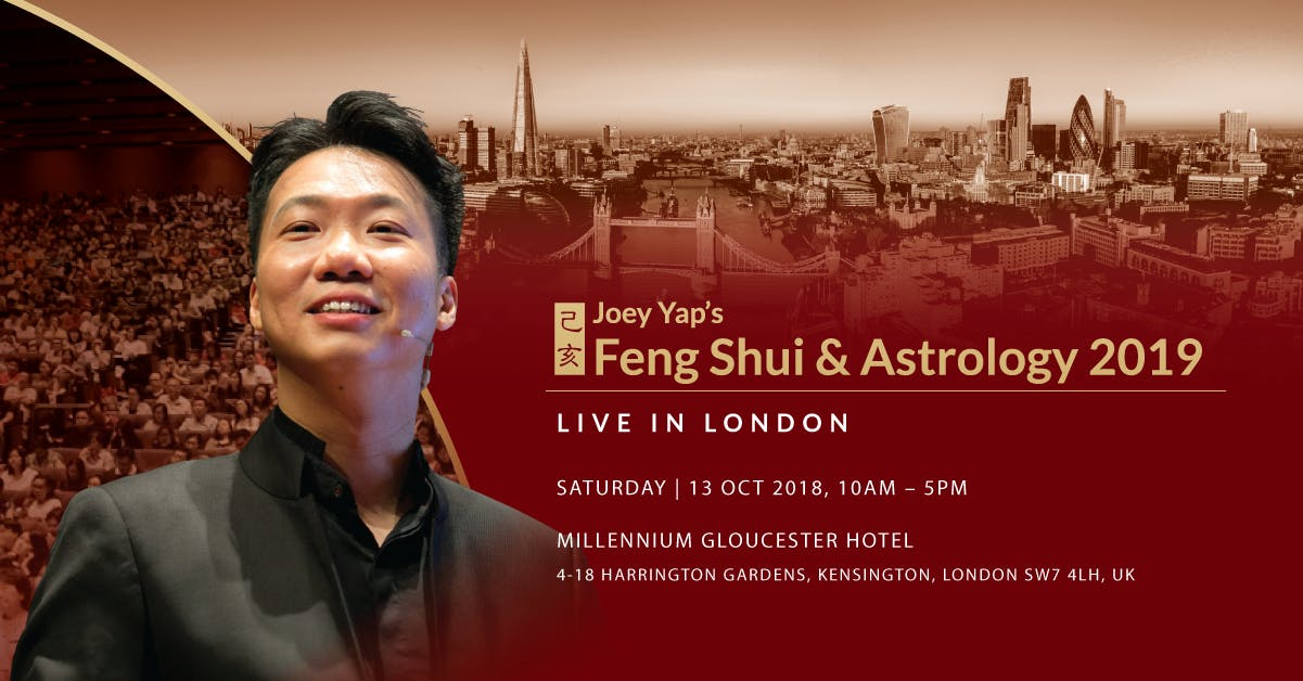 Joey Yap's Feng Shui & Astrology 2019 (London
