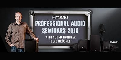 Yamaha Network based live sound: compact systems for conferences and performances [Castione, Schweiz - ENGLISH]