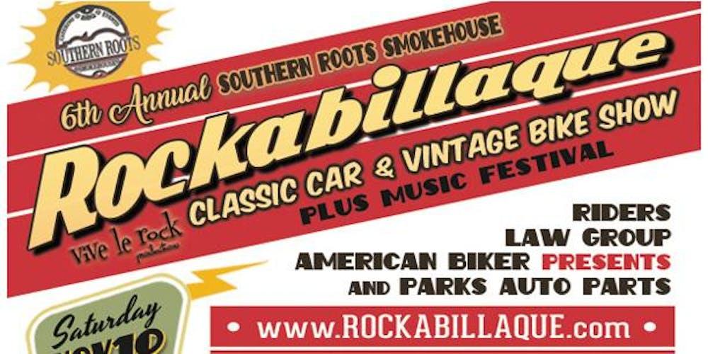 Th Annual Rockabillaque Classic Car Vintage Bike Show Tickets - Charleston car show calendar