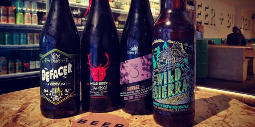 BEER + BURGER STORE: DALSTON BOTTLE CLUB