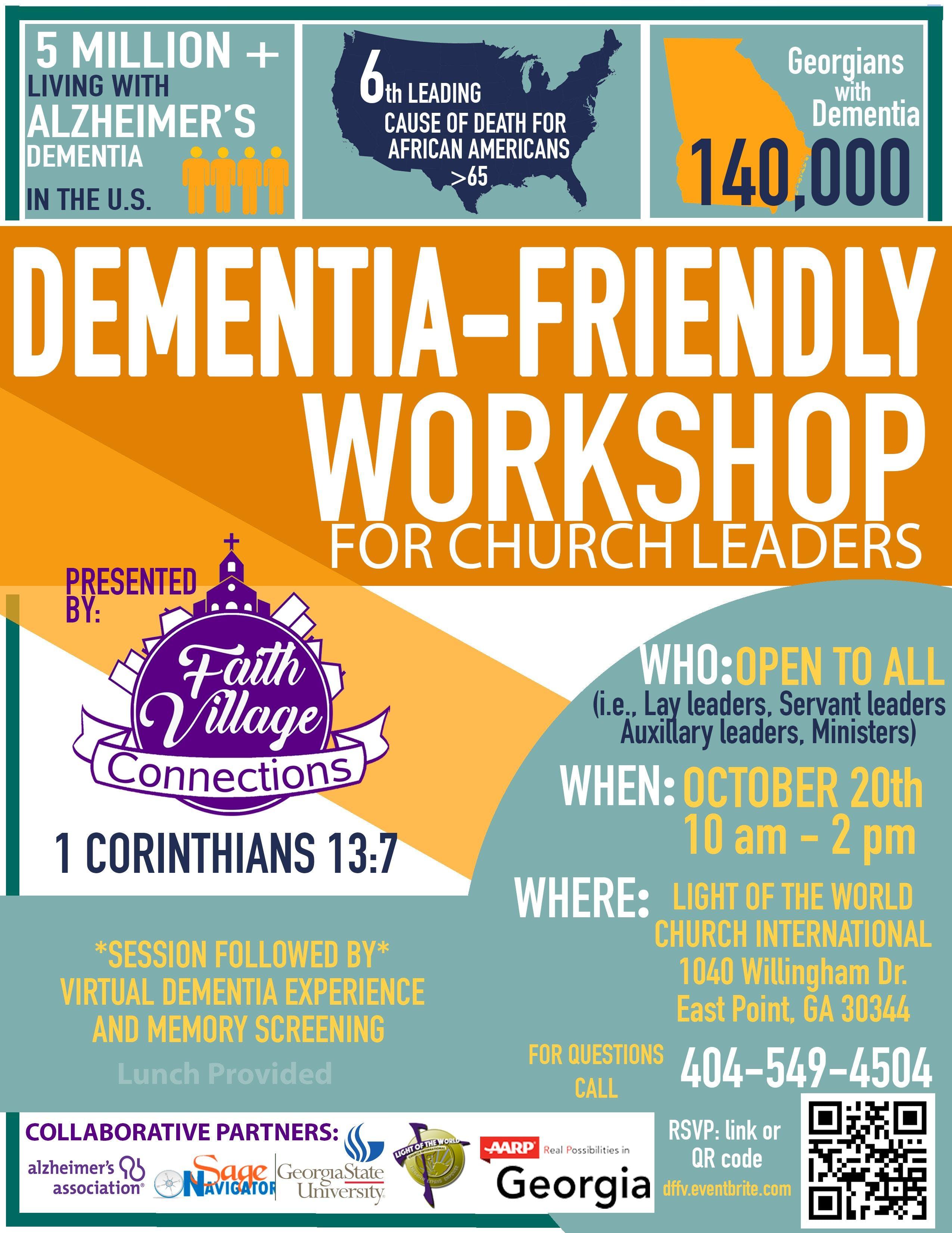 Dementia-Friendly Workshop for Church Leaders