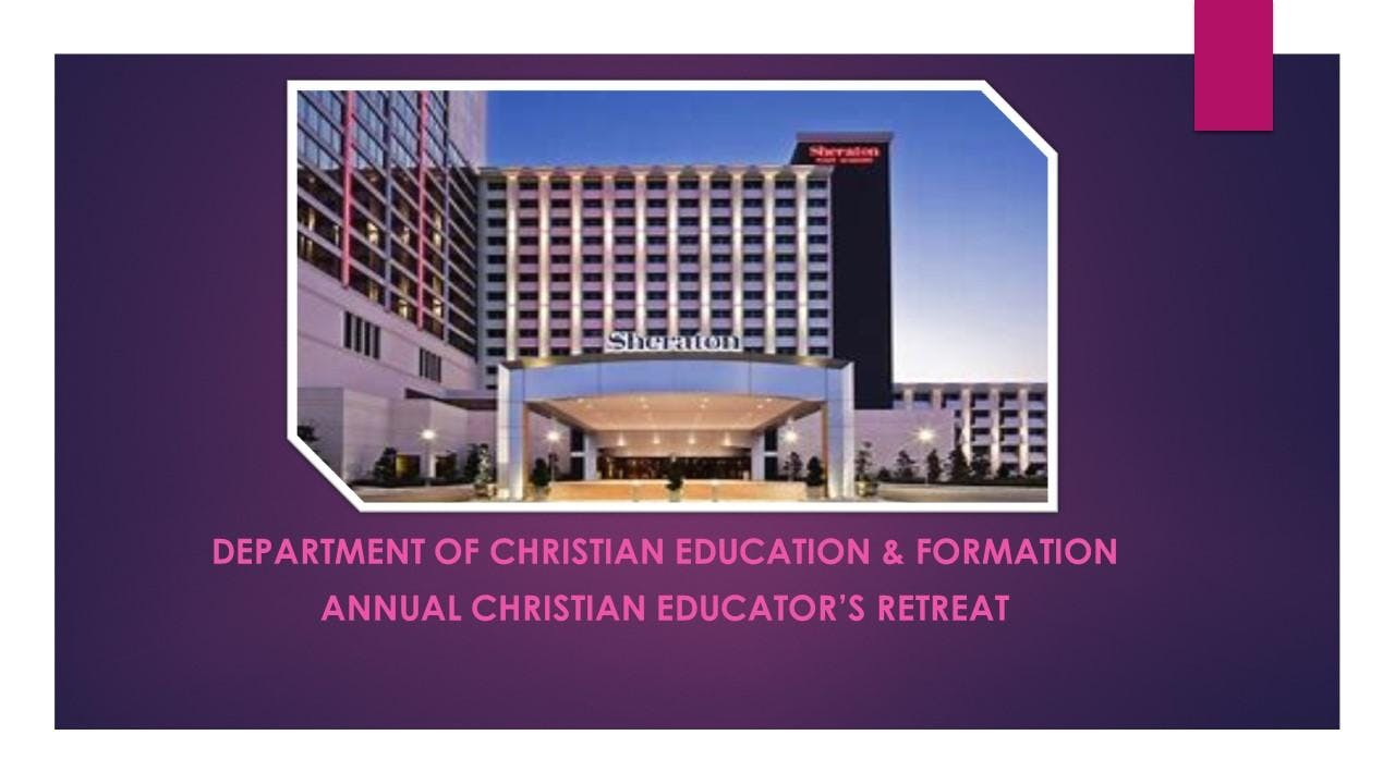 Department of Christian Education & Formation