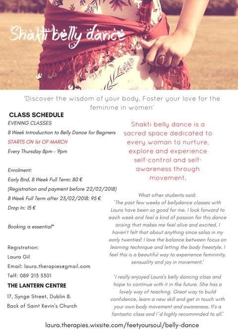 Shakti Belly Dance- 10 week beginners course