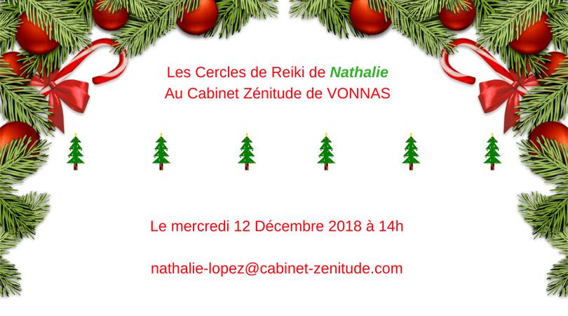 Les Cercles de Reiki de Nathalie