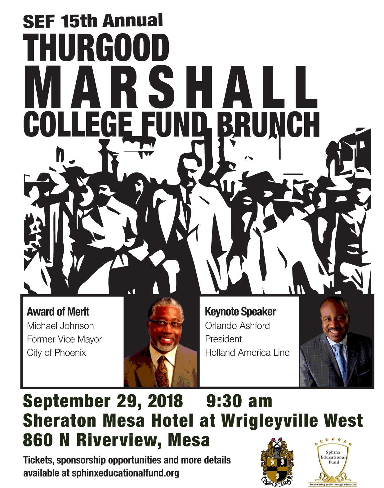 15th Annual Thurgood Marshall College Fund Brunch