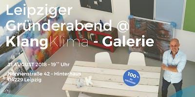 Leipziger Gründerabend @ KlangKlima - Galerie