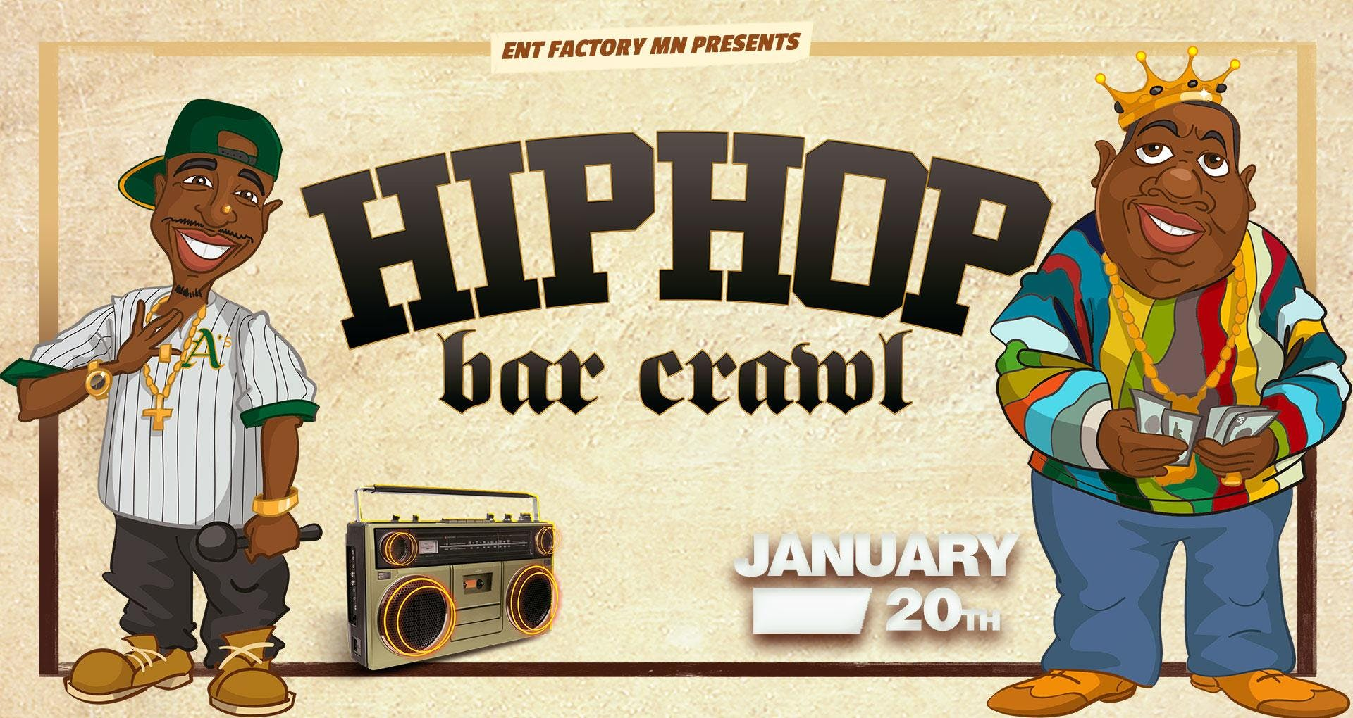 The Hip Hop Bar Crawl