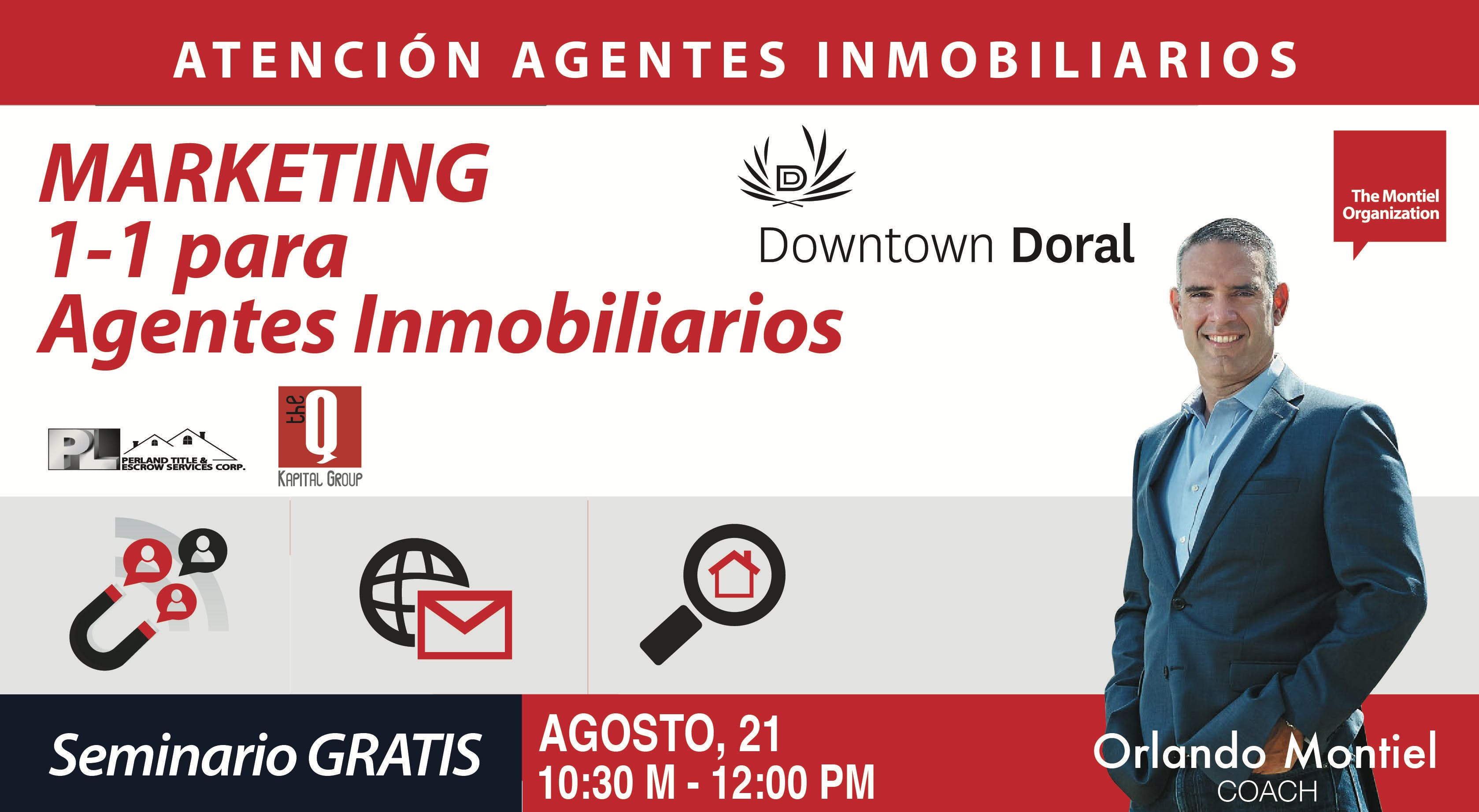 Seminario: Marketing 1-1 para Agentes Inmobil