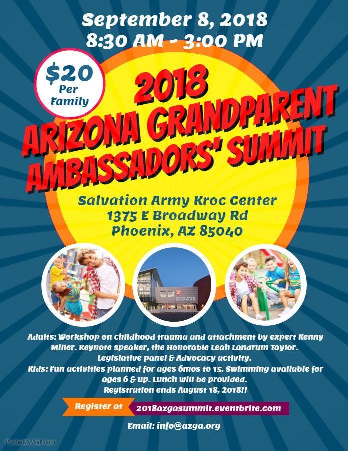 2018 AZ Grandparent Ambassadors' Summit (AZGA Summit)
