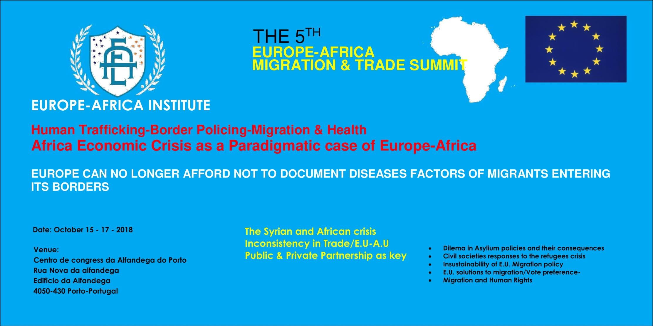 5TH EUROPE-AFRICA INTERNATIONAL CONFERENCE ON
