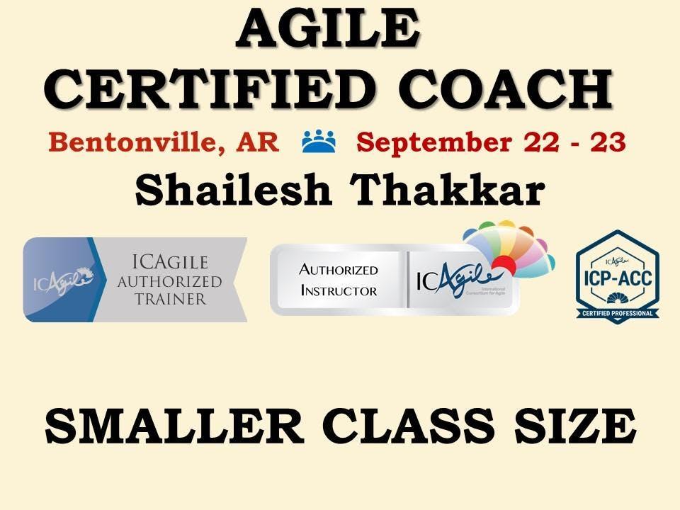 Agile Certified Coach Icp Acc Workshop 22 Sep 2018
