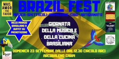 Brazil Fest Giornata Della Musica E Del Cibo Brasiliano