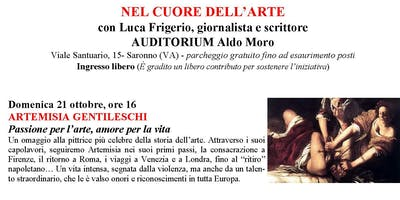 Nel cuore dell'arte Artemisia Gentileschi a cura di Luca Frigerio